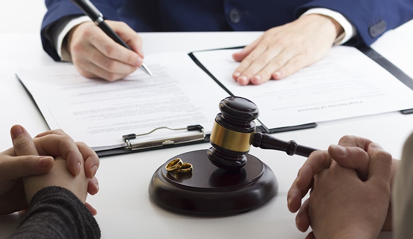 Business owners divorce